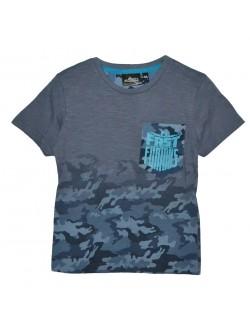 Tricou Fast & Furious, copii 6 - 12 ani, gri-albastru