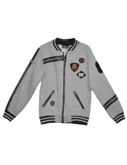 Cardigan baieti, Fast and Furious, 6 - 12 ani, gri
