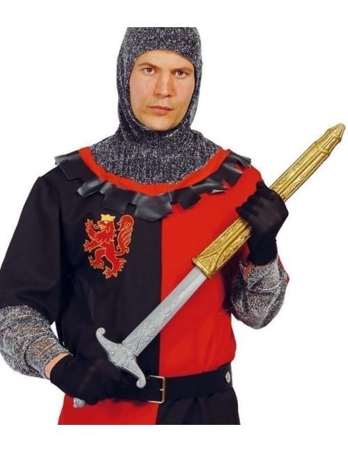 Sabie medievala, cu teaca, 51 cm