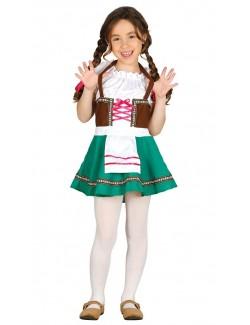 Costum tirolez pentru fete 5 - 12 ani