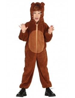Costum Urs pufos, copii 3-7 ani