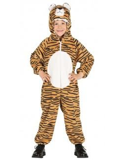 Costum Tigru pufos, copii 3-6 ani