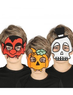 Masti Halloween copii, modele diverse