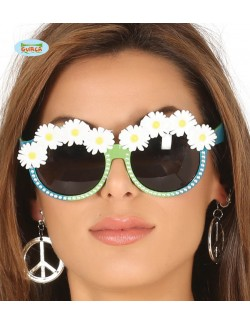 Ochelari Hippie, cu margarete