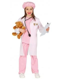 Costum Medic veterinar, fete 3-6 ani