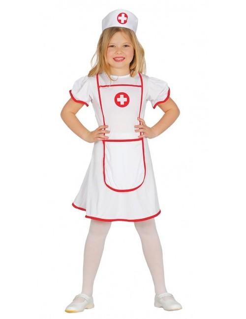 Costum Asistenta medicala, copii 5-6 ani