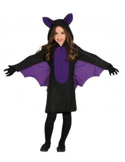 Costum Halloween Liliac, fete 3 - 12 ani