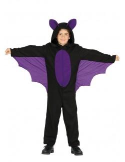 Costum Halloween Liliac, fete 3 - 9 ani