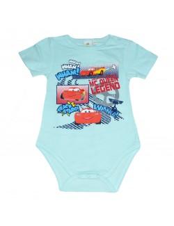 Body bebelusi, Disney Cars, bleu, 3-23 luni