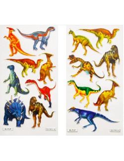 Abtibilduri / Stickere cu Dinozauri, 18 x 6,6 cm