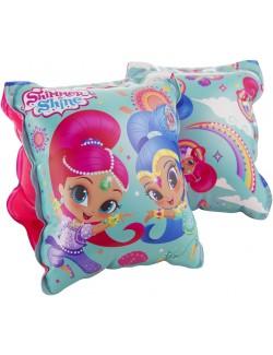 Aripioare gonflabile, Shimmer si Shine, pentru copii