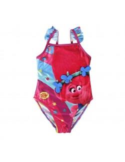 Costum baie, Trolls - Poppy, copii 3-7 ani