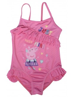 Costum baie, Peppa Pig, copii 2 si 6 ani