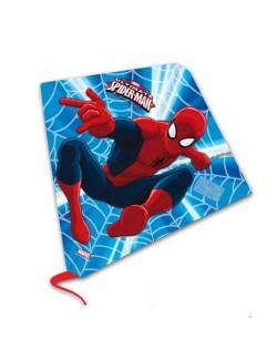 Zmeu jucarie, din plastic, Spiderman, 58 x 56 cm