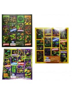 Stickere Testoasele Ninja, 16 x 16 cm, 3 modele