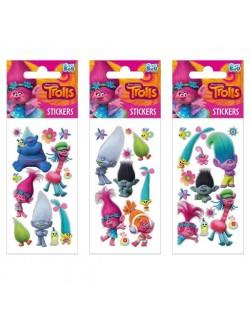 Abtibilduri / Stickere Trolls, 18 x 6,6 cm