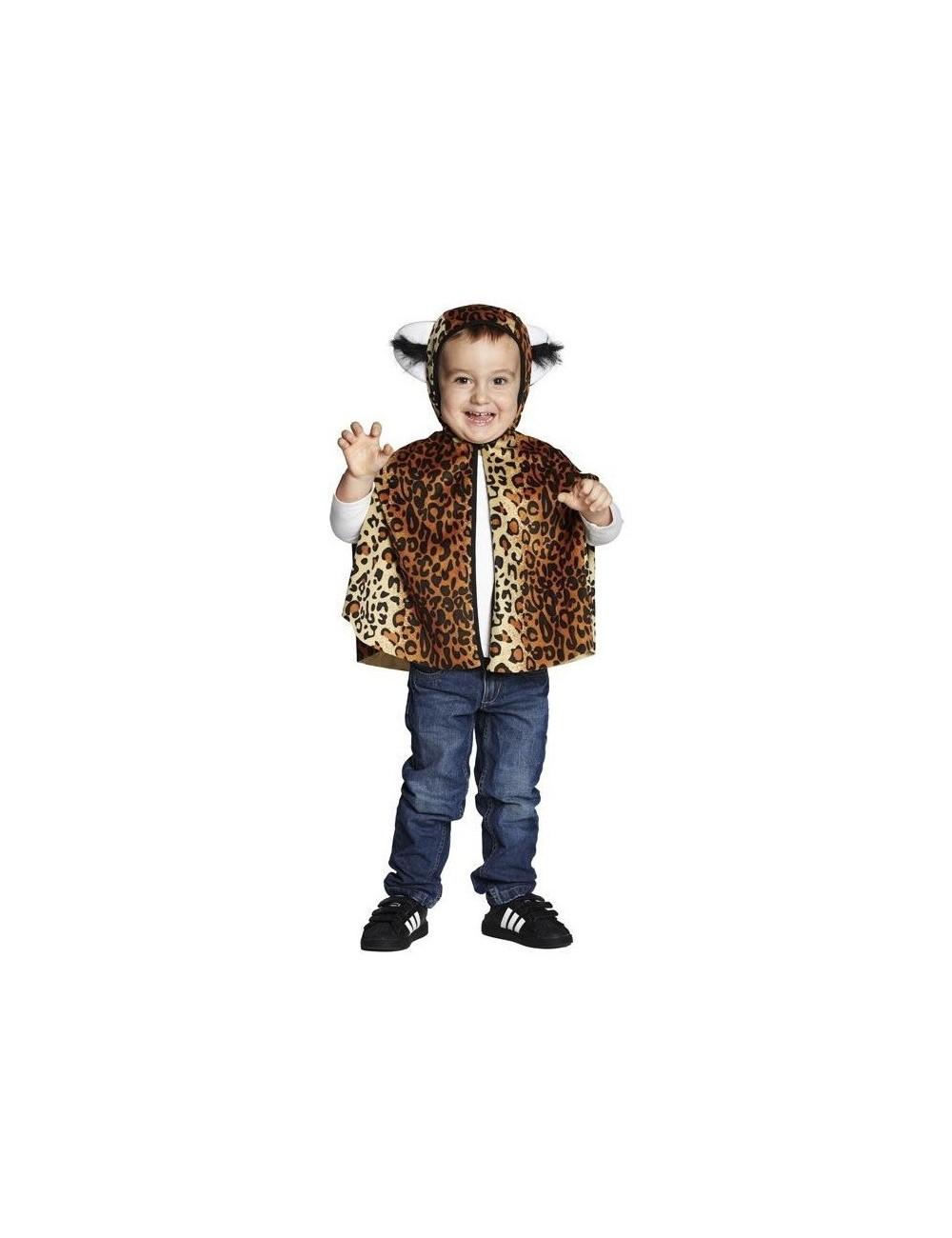 Costum Poncho Leopard de plus, copii 4 - 6 ani