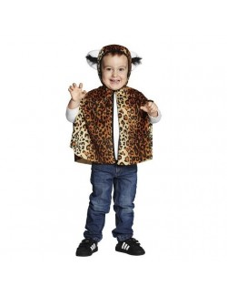 Costum Poncho Leopard de plus, copii 4 - 6 ani