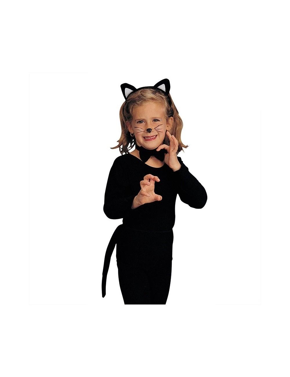 Set Pisica Neagra 3 Piese Pentru Copii