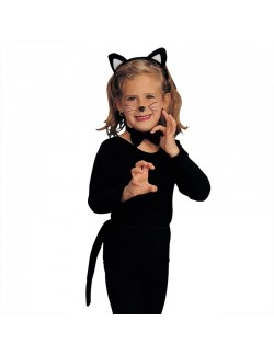 Set Pisica neagra, 3 piese, pentru copii