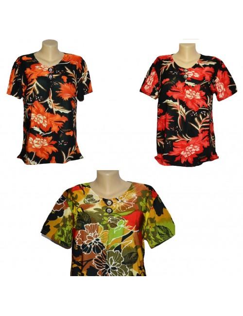 Bluze dama, model floral, diverse modele