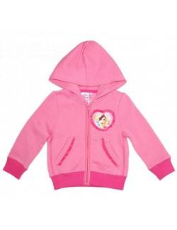 Hanorac fete 3 - 6 ani, Printese Disney, roz