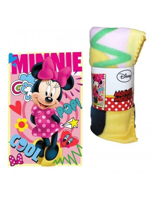 Păturică polar Minnie Mouse Cool, 100 x 150 cm