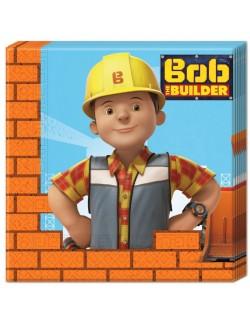 Servetele de masa, Bob Constructorul, 20 buc, 33 x 33 cm