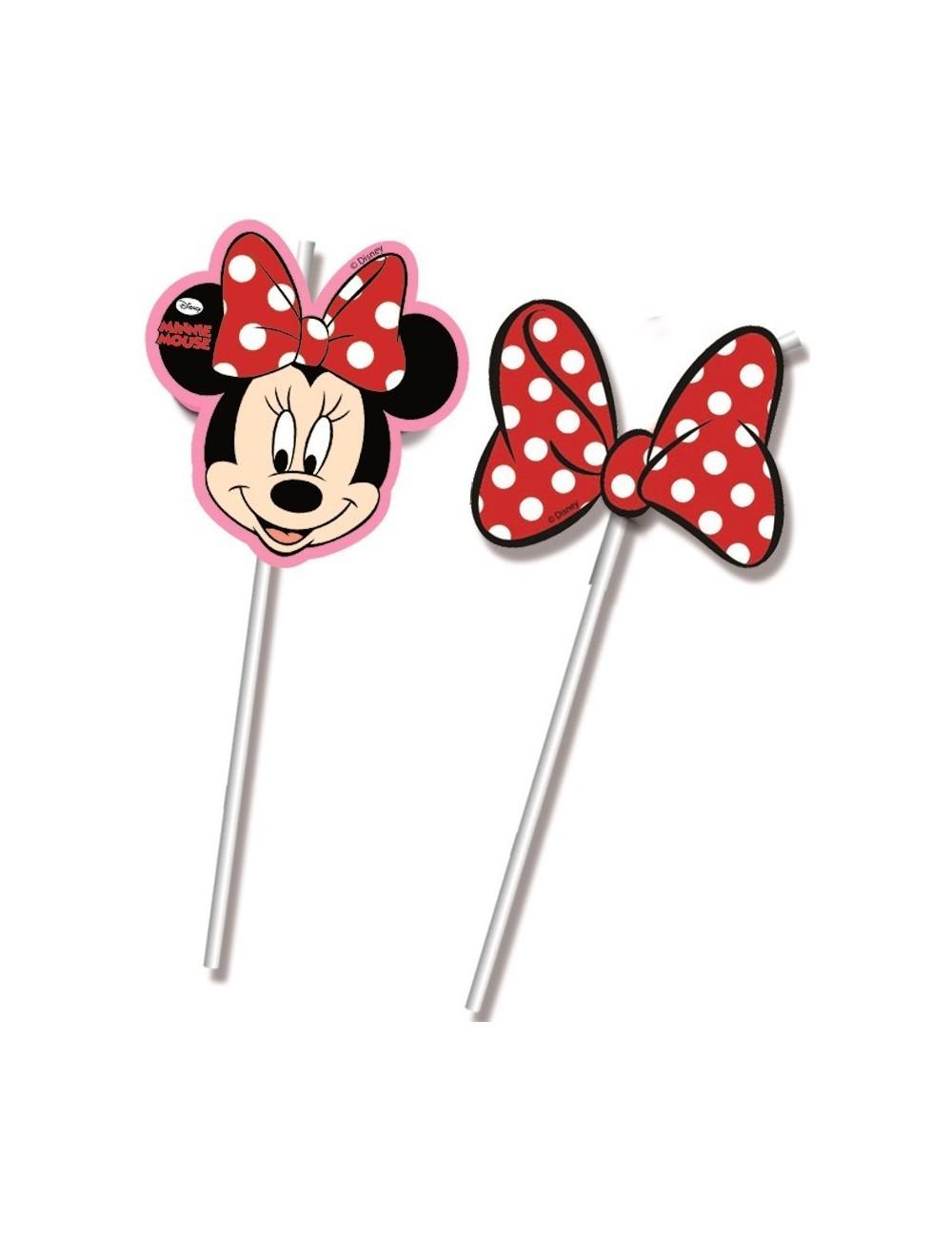 Set 6 paie pentru bauturi, Minnie Mouse