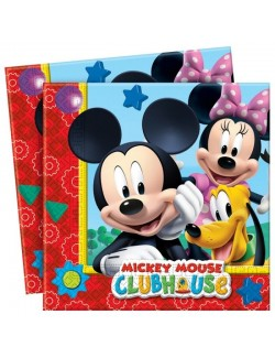 Set 20 servetele Mickey Mouse Club House, 33 cm