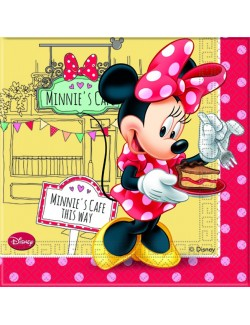 Set 20 servetele Minnie' Cafe, 33 cm