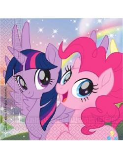 Set 20 servetele, My little Pony, 33 cm