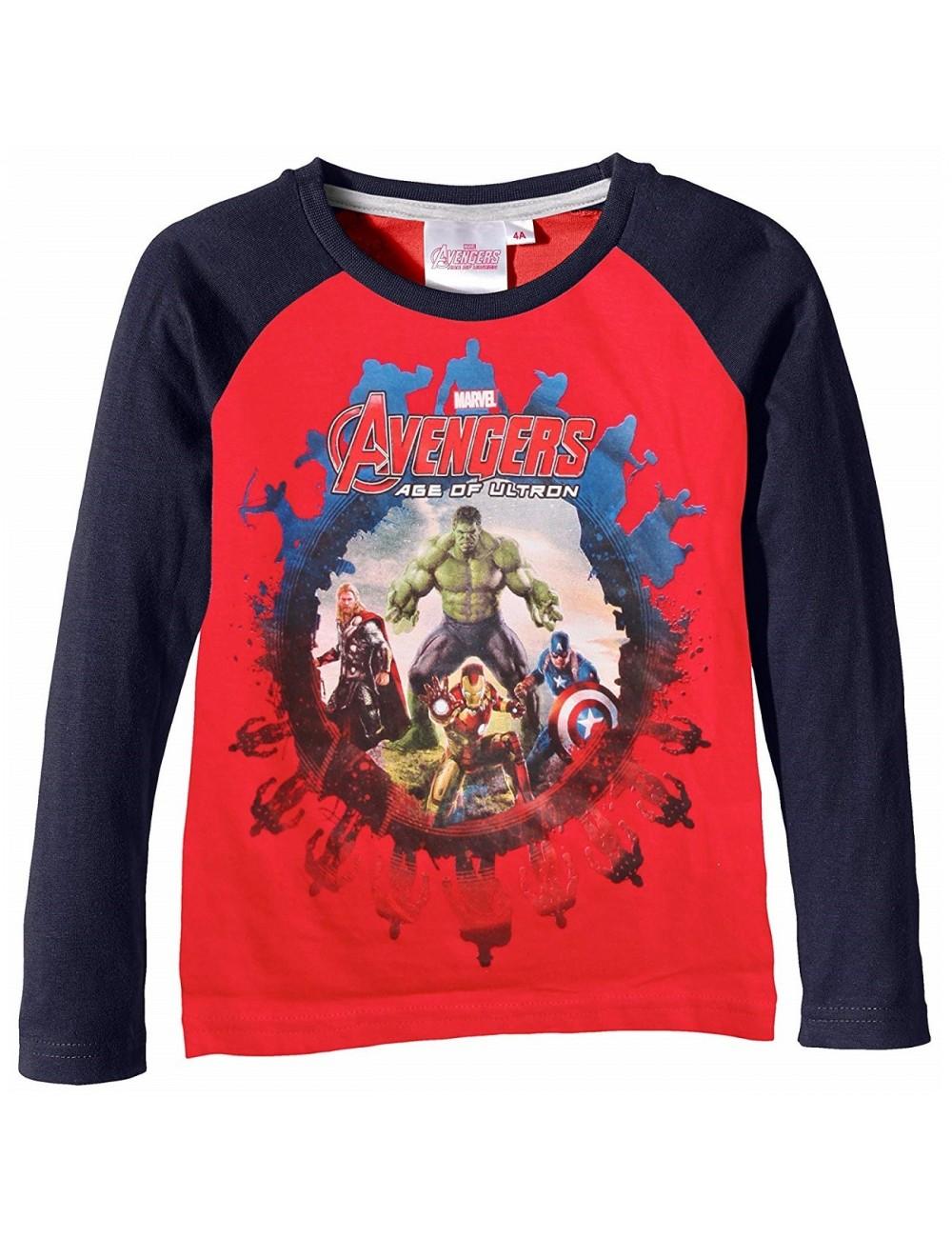 Bluza rosie cu maneca lunga-Avengers-Age of Ultron-HO1485