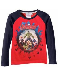 Bluza copii, rosie, Avengers Age of Ultron, 4 -10 ani