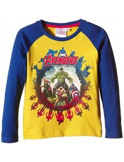Bluza copii, Avengers Age of Ultron, galbena, 10 ani