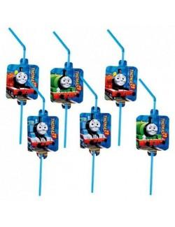 Set 8 paie pentru bauturi, Thomas si prietenii