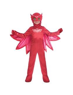 Costum Bufnita PJ Masks deluxe, copii 3-6 ani