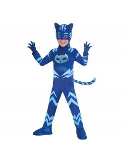 Costum Pisoi PJ Masks deluxe, copii 3-6 ani