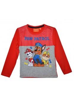 Bluza Paw Patrol, rosie, copii 3 - 8 ani