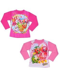 Bluza Shopkins fete 2 - 8 ani, culoare roz