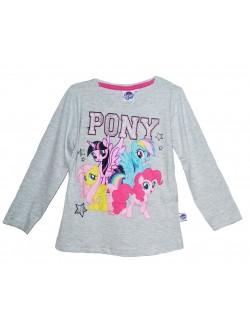 Bluza copii, Micii Ponei, 4 - 9 ani, gri