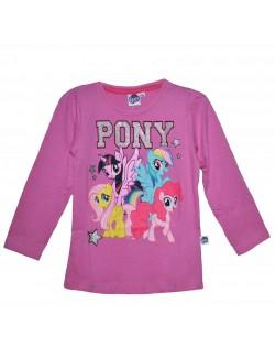 Bluza fete, Micii Ponei, 4 - 9 ani, roz