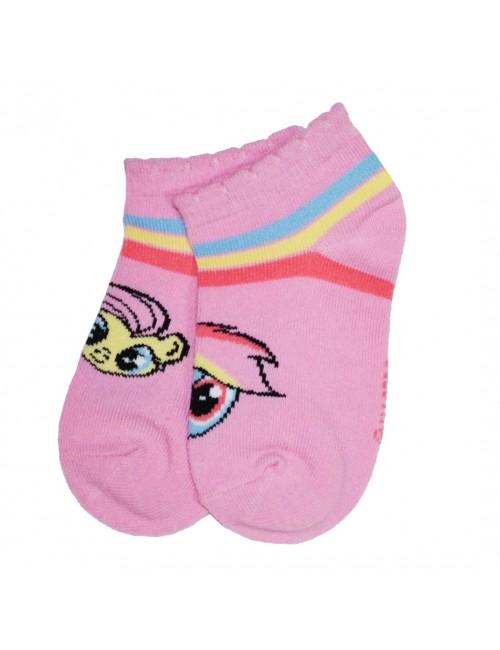 Sosete scurte, Little Pony Rainbow Dash & Fluttershy, roz