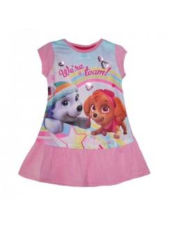 Rochie de vara, Paw patrol, copii 3-6 ani, roz