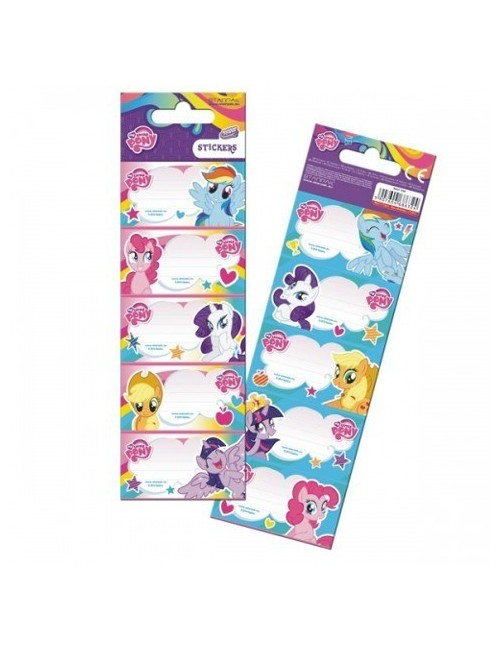 Etichete scolare My little Pony, 10 buc