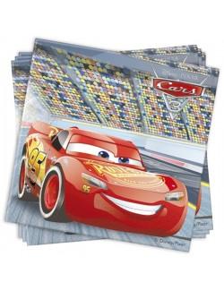 Set 20 servetele Disney Cars, 33 x 33 cm