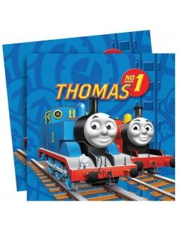 Set 20 servetele Thomas si prietenii, 33 x 33 cm