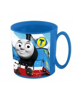 Cana plastic, Locomotiva Thomas, microunde, 350 ml