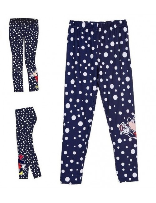 Colanti Minnie Mouse, copii 3-8 ani, bleumarin