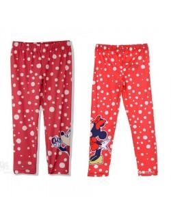 Colanti Minnie Mouse, copii 3-8 ani, rosii